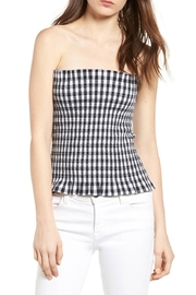 Bishop + Young Gingham Tube Top - Product Mini Image