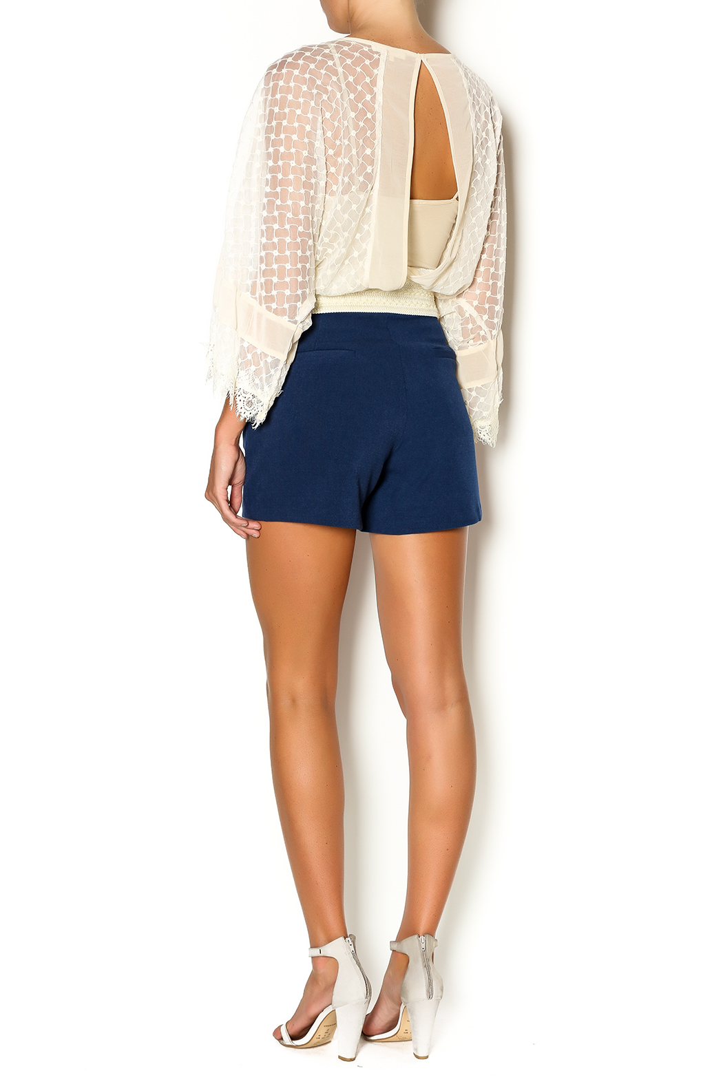 Bishop Young High Waisted Shorts From Washington By