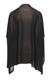 Bishop + Young Holiday Kimono Black - Front full body