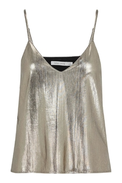 Bishop + Young Metallic Gold Cami Top - Alternate List Image