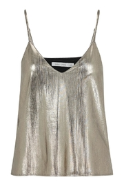 Bishop + Young Metallic Gold Cami Top - Product Mini Image