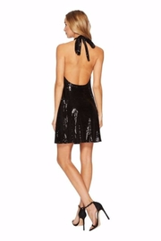 Bishop + Young Sequin Halter Dress - Front full body