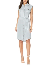 Bishop + Young Striped Button-Down Dress - Product Mini Image