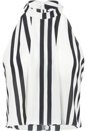 Bishop + Young Striped Sleeveless Blouse - Front cropped