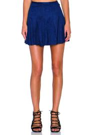 Bishop + Young Suede Flare Skirt - Product Mini Image