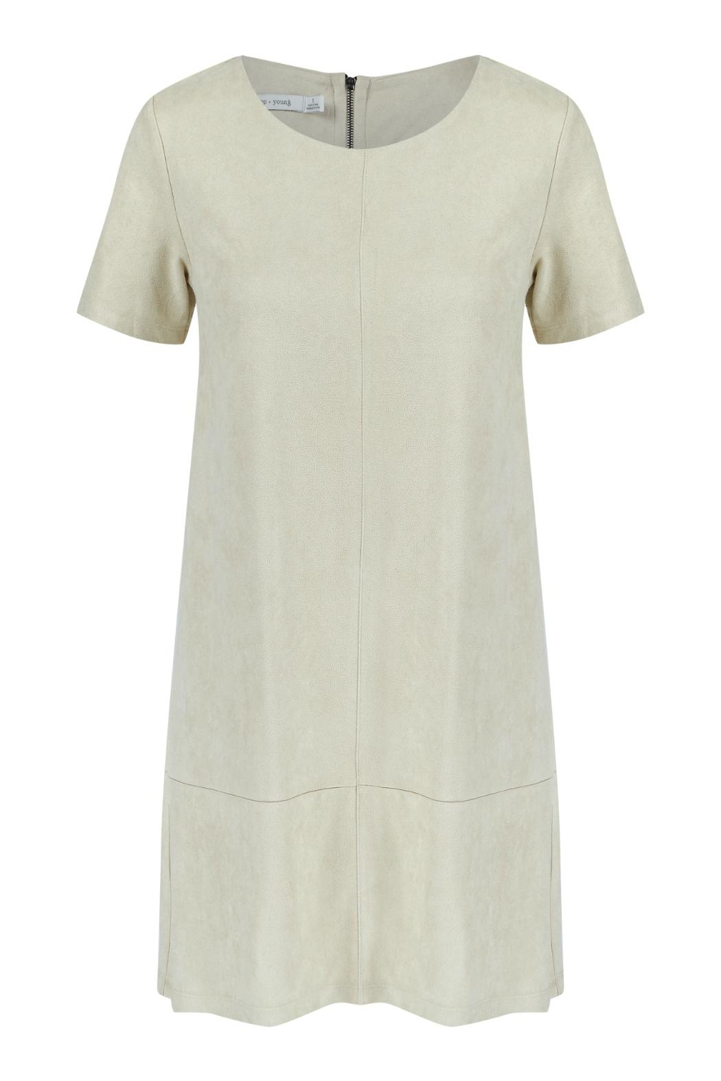 Bishop + Young Suede Shift Dress - Main Image