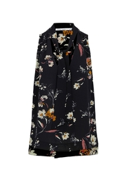 Bishop + Young Floral Tie Neck Top - Product Mini Image