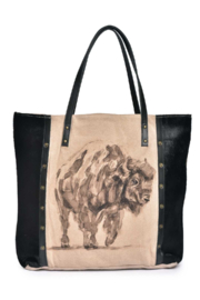 Cott N Curls Bison Tote - Product Mini Image