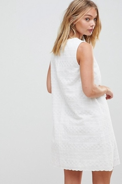 French Connection Bixa Broderie Dress - Alternate List Image