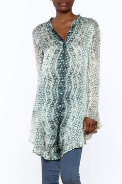 Biya by Johnny Was Silk Knit Blouse - Product List Image