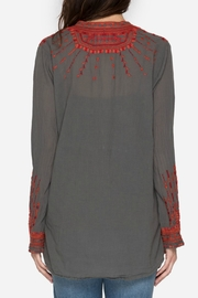 Johnny Was Allyna Embroidered Tunic - Front full body