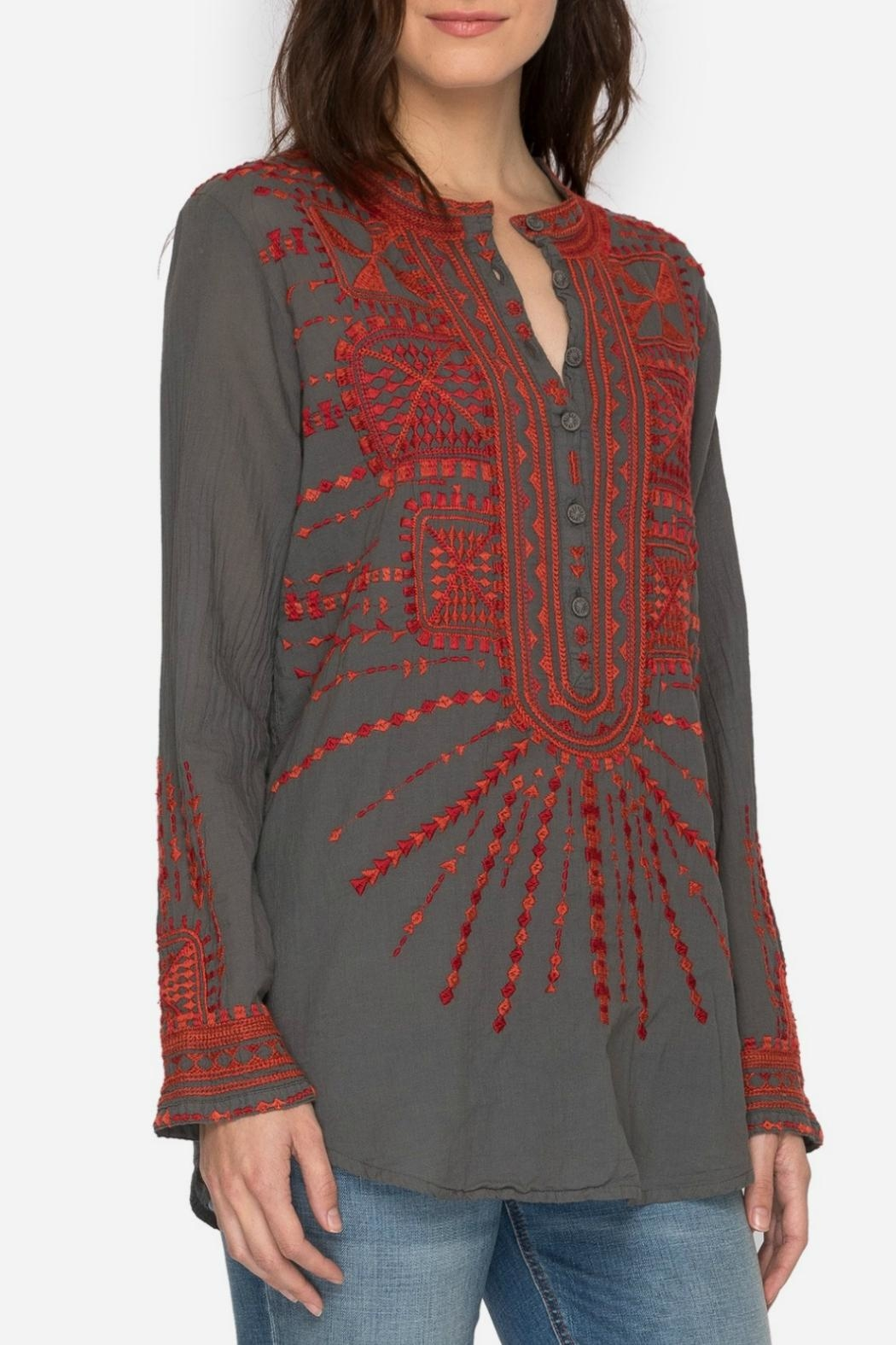 Johnny Was Allyna Embroidered Tunic - Main Image