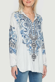 Biya by Johnny Was Peotry Tunic Blouse - Product Mini Image