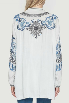 Biya by Johnny Was Peotry Tunic Blouse - Alternate List Image