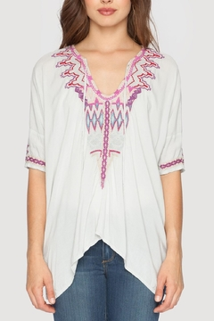 Biya by Johnny Was Quanta Natural Blouse - Product List Image