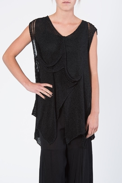 Shoptiques Product: Black Vest Sweater