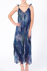 BK Moda Blue Floral Dress - Product Mini Image