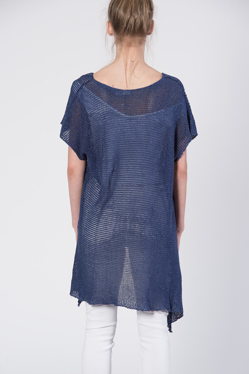 BK Moda Bow Sweater Top - Side Cropped Image