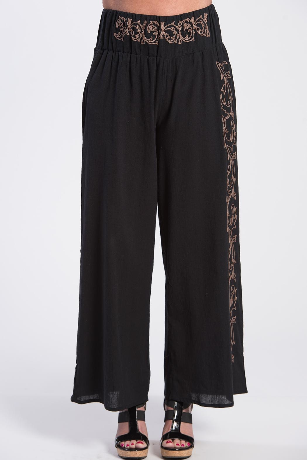 BK Moda Turkish Cotton Pant - Front Cropped Image