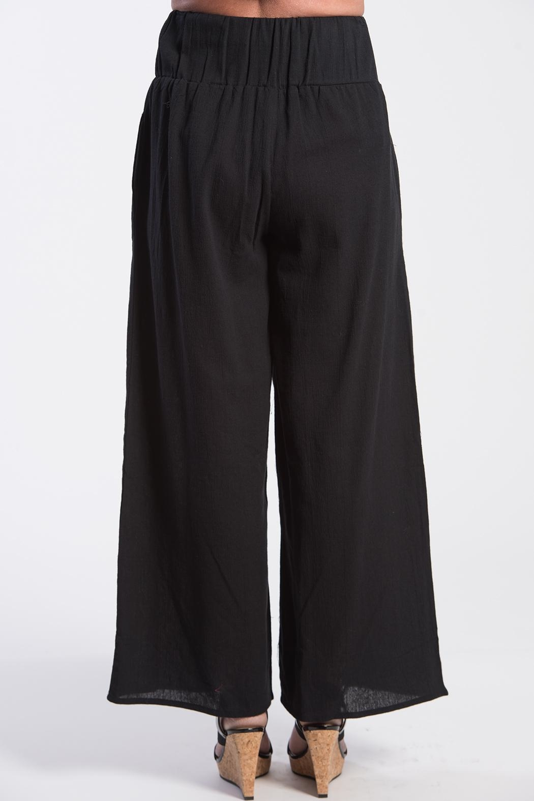 BK Moda Turkish Cotton Pant - Front Full Image