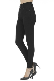 Kan Can BLACK 3 BUTTON HIGH RISE - Front full body