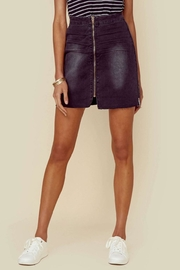 One Teaspoon Black Anchor Skirt - Product Mini Image