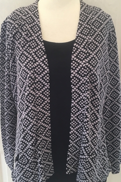 Habitat  Black and grey cardigan sweater - Product List Image