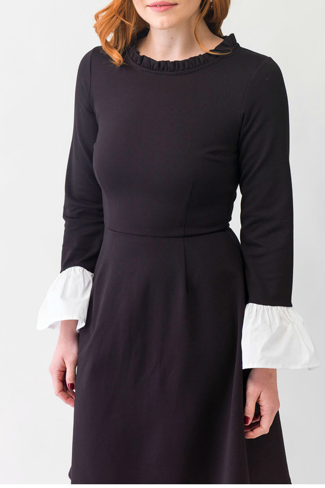 Smak Parlour Black and white dress - Front Full Image