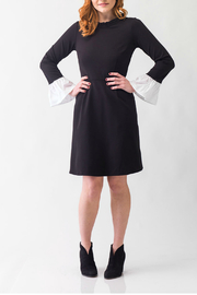 Smak Parlour Black and white dress - Front cropped