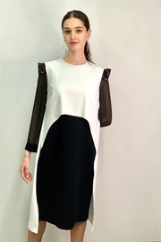 Mossaic Black and White Dress by  2302 - Product Mini Image