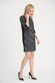 Joseph Ribkoff  Black and White Shift Dress - Product Mini Image