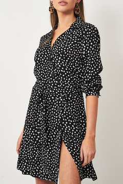 frontrow Black Animal-Print Dress - Product List Image