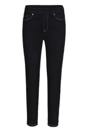 Tribal Jeans Black Ankle Jegging - Front cropped