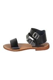 Lady Doc Black Ankle-Strap Sandal - Product Mini Image