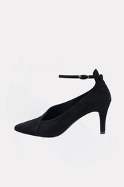 Andre Assous Black Asymmetrical Heel - Product Mini Image