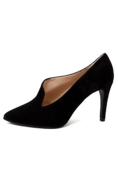 Brenda Zaro Black Asymmetrical Pump - Product List Image