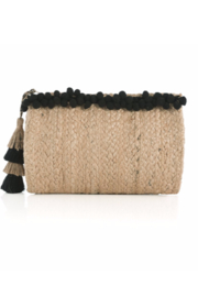 Shiraleah Black Aubrey Clutch - Product Mini Image