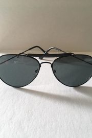 House of Atelier Black Aviator Sunglasses - Product Mini Image