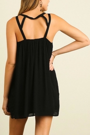 People Outfitter Black Babydoll Dress - Front full body