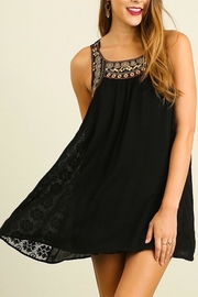 People Outfitter Black Babydoll Dress - Front cropped