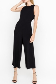 Lush Black Back-Tie Jumpsuit - Product Mini Image