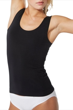 Boody Black Bamboo Tank - Product List Image