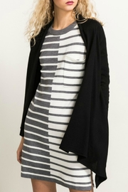 Hem & Thread Black Basic Cardigan - Product Mini Image