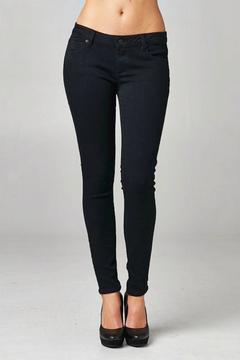 Shoptiques Product: Black Basic Skinny Jean