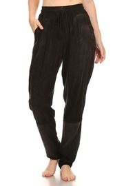 T Party Black Batik Jogger-Pant - Product Mini Image