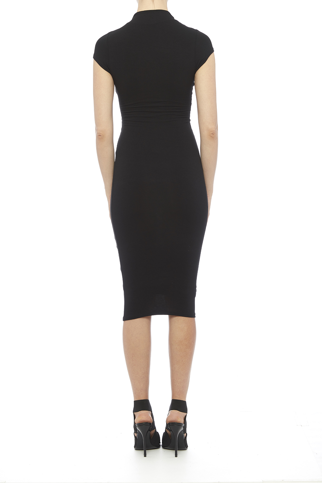 black bead midi dress from manhattan by dor l dor shoptiques