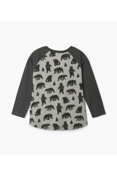 Hatley Black Bears Raglan Tee - Alternate List Image