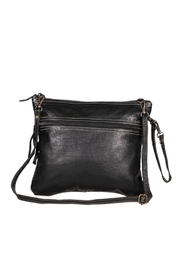 Myra Bags Black Beauty Leather Bag - Product Mini Image