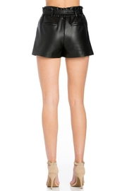 Comme USA Black Belted Shorts - Other