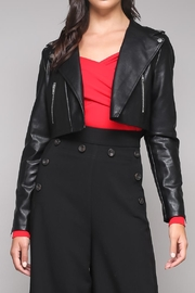 Do & Be Black Biker Jacket - Product Mini Image
